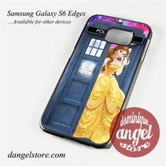 belle who tardis Phone Case for Samsung Galaxy S3/S4/S5/S6/S6 Edge/S6 Edge Plus