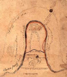 Map of Horseshoe Bend Central Illinois, Auburn University, Alabama, Map, History, Families, Historia, Location Map, My Family