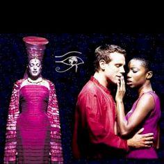 Aida!  Adam Pascal & Heather Headley, both have beautiful, powerful voices