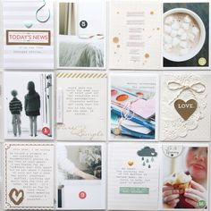 Project Life: February 2014 by stephaniebryan @2peasinabucket - love the pocket with the doily and heart!
