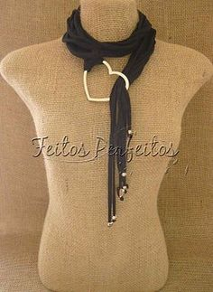 Love this. Looks like a necklace and a scarf!