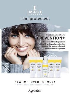 Image Skincare Daily Prevention+ for year round protection from UV damage All Natural Skin Care, Organic Skin Care, Hairstylist Problems, Skin Care Center, Skin Care Spa, Best Sunscreens, Image Skincare, Homemade Facials, Healthy Skin Care