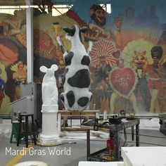 Enjoy a fascinating visit to Mardi Gras World in New Orleans.