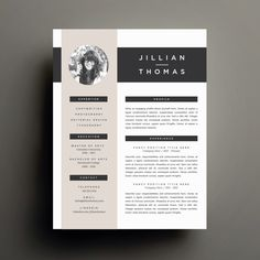 Creative Resume Template and Cover Letter Template for Word | DIY Printable Resume 4 Pack | Modern 2 Page Design by RefineryResumeCo on Etsy https://www.etsy.com/listing/211492174/creative-resume-template-and-cover