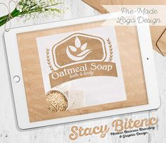 Natural Soap Logo with Business Branding. by StacyBGraphicDesign
