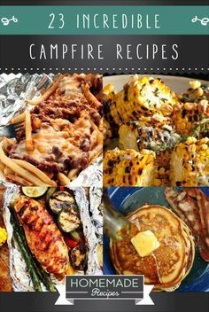 23 Incredible Campfire Recipes | The Best Camping Meals Ever! Check it out at http://homemaderecipes.com/23-campfire-recipes/