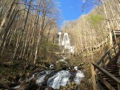 Trail Journals Photos - 2014 Appalachian Trail - Amicalola Falls