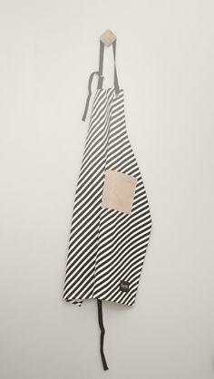 Apron - Black stripe