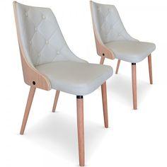 Chaise industrielle bistrot métal et bois colorée Cardiff