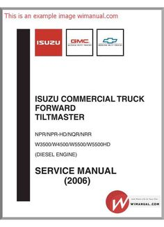 Isuzu d max 2011 4jj1 engine service manualpdf pdfy mirror isuzu commercial truck npr npr hd nqr nrr service 2006 pdf download this manual has fandeluxe Images