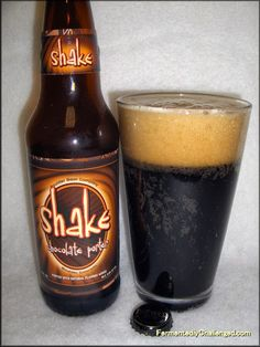 Fermentedly Challenged: Boulder Beer Shake Chocolate Porter review