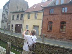 At the Nikolaikirche (Wismar)r
