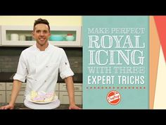 VIDEO TUTORIAL - secrets to perfect royal icing you can make yourself! on Craftsy Cake Decorating YouTube