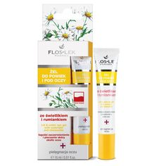 FLOSLEK Gel for eyelids and under the eyes with a skylight and camomile Day Makeup, Good To Know, Health Tips, Health Fitness, Told You So, How To Apply, Hair Beauty, Skin Care, Cosmetics