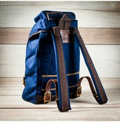 Seil Marschall Alpine Rucksack in Blue