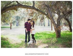 San Diego Fall Engagement Session: Erica + Justin » Aga Jones Photography