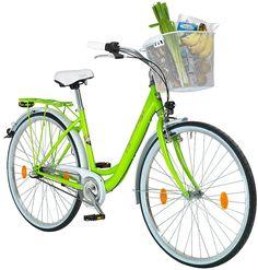Citybike (Damen) »66,04 cm (26 Zoll), 71,12 cm (28 Zoll)«