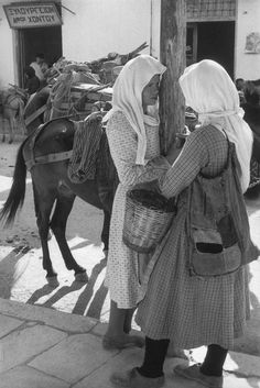 Tessaly, Karditsa. 1961. Photo: Henri Cartier-Bresson.