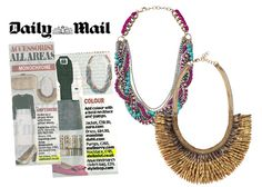 Stella & Dot - Pegasus Necklace as featured in the Daily Mail  Shop at my link...www.stelladot.com/ kristinaclecak
