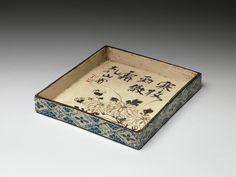 Ogata Kenzan | Tray | Japan | Edo period (1615–1868) | The Metropolitan Museum of Art