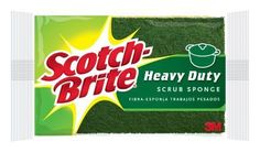 Scotch Brite Heavy Duty Scrub Sponge 37121-4TPL-S