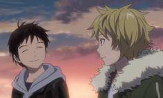 Suzuha and Yukine from Noragami. I love this pairing, so freaking sad.