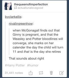 #TeamMcGonagall o-o