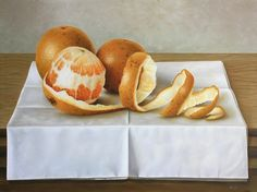 Hyperrealistic citric spiral