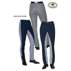 Cavallo - Kontrast Jodpur Reithose mit Gesässbesatz CARLA -- CALEVO.com Shop