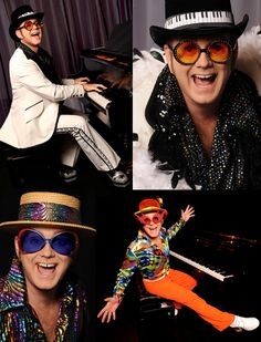 Elton John, loved his glasses and funk in the 70's