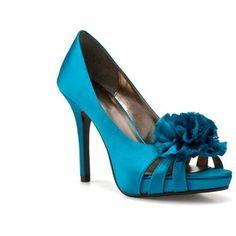 "Lulu Townsend - Elanor, 4"" heel, 0.5"" platform, Older Shoe (Turquoise)"