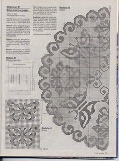 Gallery.ru / Фото #22 - Filet Crochet pour Point de Croix 2 - Mongia