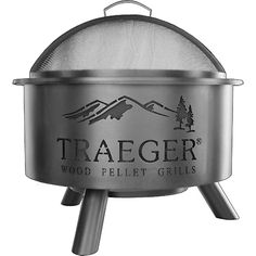 Traeger Outdoor Fire Pit is a great reason to gather together. It can use the same 100% hardwood pellets as our grills or regular firewood. Traeger Quality