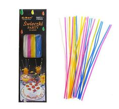 Świeczki urodzinowe długie Party 48szt 11cm