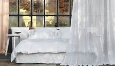 #curtains #linen #white #fabrics #madeinitaly #homedecor