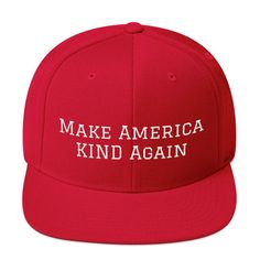 RED Full TWILL HAT Trump MAKE AMERICA GREAT AGAIN