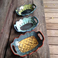 Amy Sanders...................there there pottery: Fresh out of the kiln!