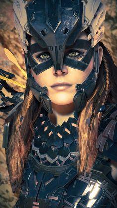 Fantasy Women, Fantasy Art, Horizon Zero Dawn Aloy, Resident Evil 7 Biohazard, Video Games Girls, Viking Warrior, Warrior Princess, Post Apocalyptic, Skyrim