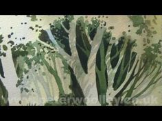 Watercolour Tip from PETER WOOLLEY: Dry Brush Technique - YouTube