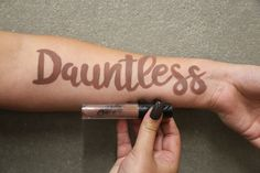 Dauntless is a creamy and matte formula in the Lip Grip Collection. This shade has hints of brown, nude and grey. *Paraben-free, Gluten-free, Cruelty-free, Vegan* #Suavecitalipgrips #Lipgrips #SuavecitaDauntless #Dauntless #Nude #Liquidlipstick #Brown #Cosmetics #Makeup #Getitrucca!