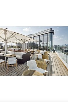 We just cannot get enough of this view. Archisphere worked on the interior of Hotel Andaz Vienna in 2019. Our team is definitely going to enjoy drinks on this beautiful #rooftop soon.  . . . . . .  📸© Hyatt #andazvienna #hoteldesign #archisphere #architects  #architecture #design #interiordesign #luxury #luxuryhotel #travel #designlife #hospitality #hospitalitydesign #rooftop #rooftopbar #luxurytravel #skybar #picoftheday #stayandwonder Sky Bar, Rooftop Bar, Hospitality Design, Luxury Travel, Vienna, Architects, Architecture Design, Patio, Interior Design