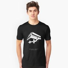 Beton Brutees - Hayward Gallery Unisex T-Shirt Front  Brutalist Building Architecture Concrete BetonBrutees