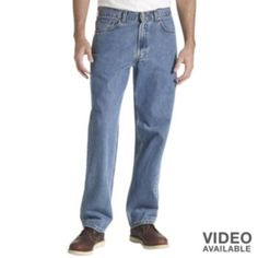 Levi's 550 Relaxed Fit Jeans - Men