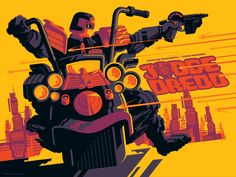 Judge Dredd - Tom Whalen ----