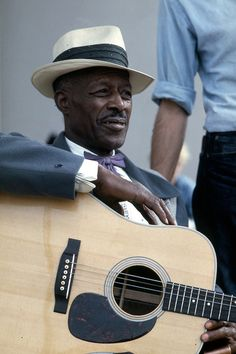 Son House - American blues singer and guitarist. newport