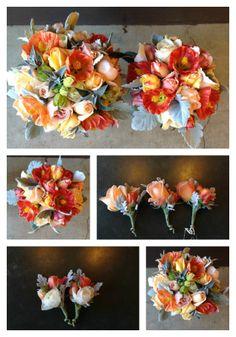 November Wedding - www.DragonflyFloral.com - #bridesbouquet #dragonflyfloral #novemberwedding