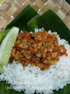Just Try & Taste: Sambal Tempe  Food yummy. Love to eat