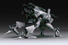 Robo Walker Picture  (3d, character, robot, sci-fi)