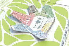 Pabellón Olímpico de Gimnasia. Madrid 16 / Paredes Pino