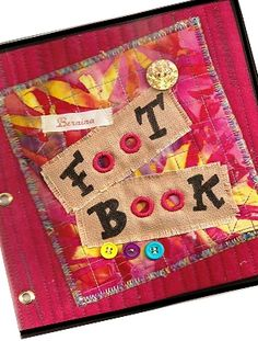 """Project - make a """"foot book"""""""